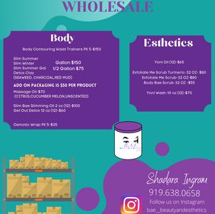 Bae by Dara Wholesale Flyer