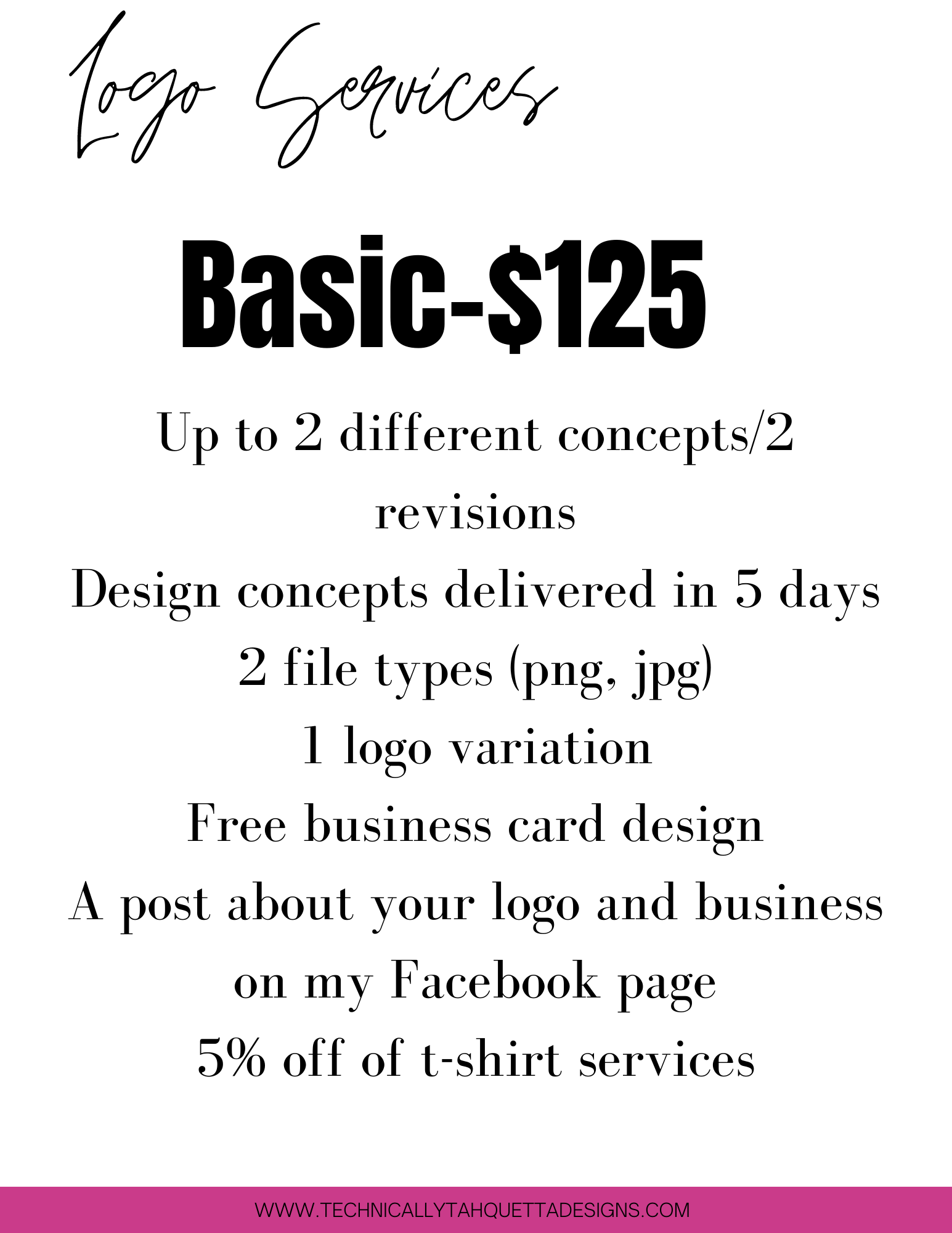 Basic Logo Design Package