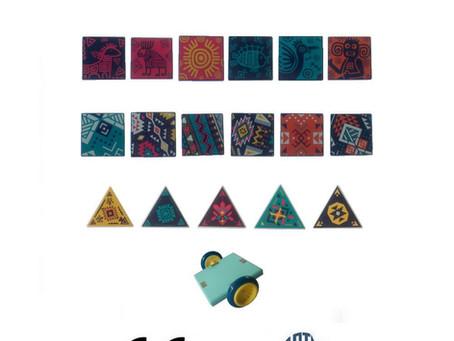 TIL'ART: magical magnetic multipositionable tiles!