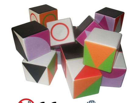 GEOCUBE: magical multipositionable magnetic cubes!