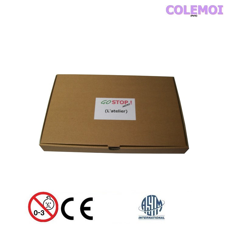 GOSTOP MINI cardboard box