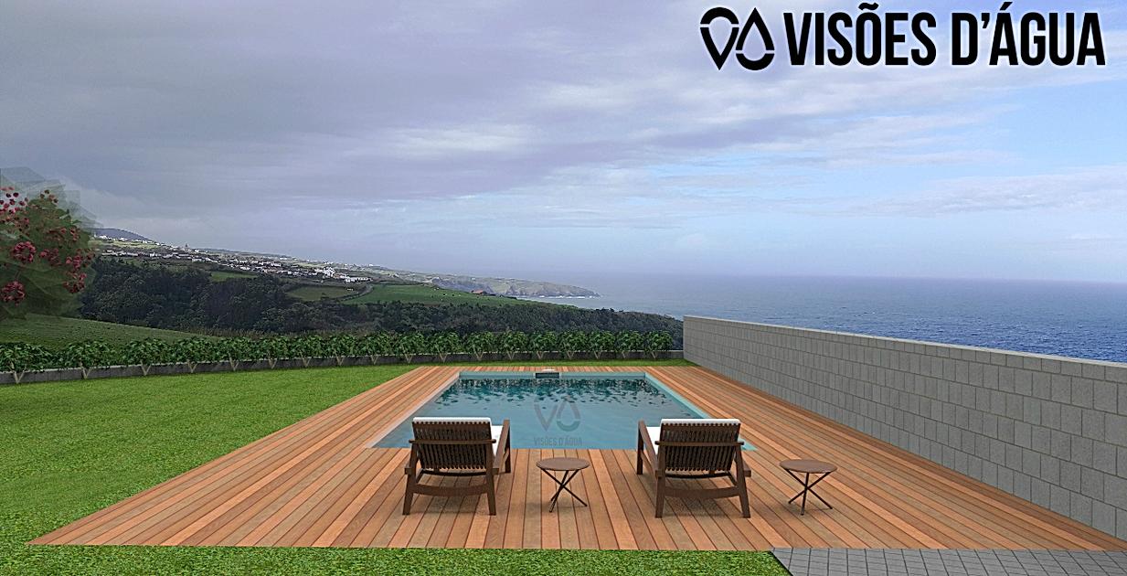 Piscinas nos Açores
