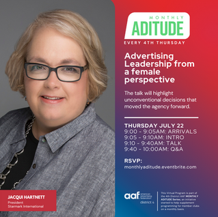 Leadership from a female perspective at ADitude July