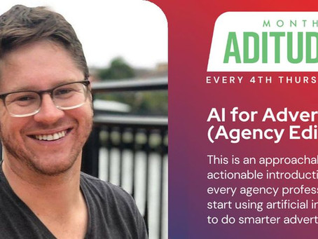 ADitudes May talks AI for Advertising