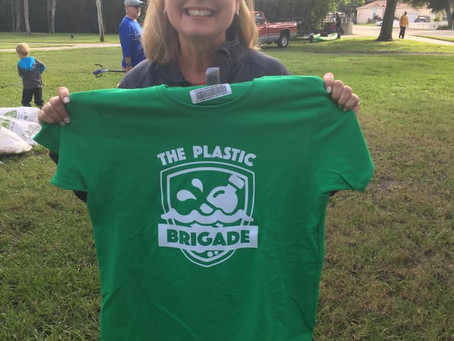 Join our next Plastic Brigade waterway clean-up