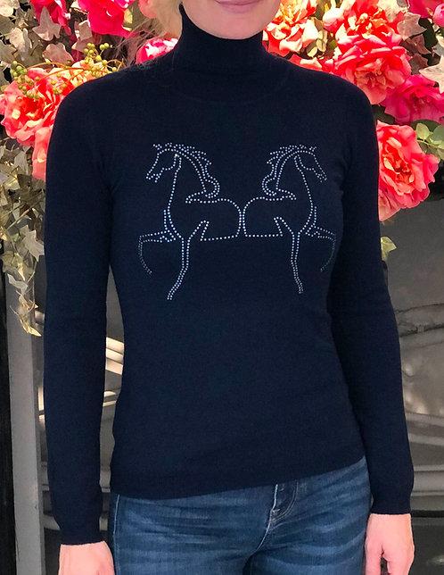 Rolli NC Horses navy
