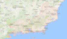 Mapa do Estado do Rio de Janeiro e algumas cidades proximas à cidade do Rio de Janeiro, onde acontecem alguns tours oferecidos pela Rio Running Tour.