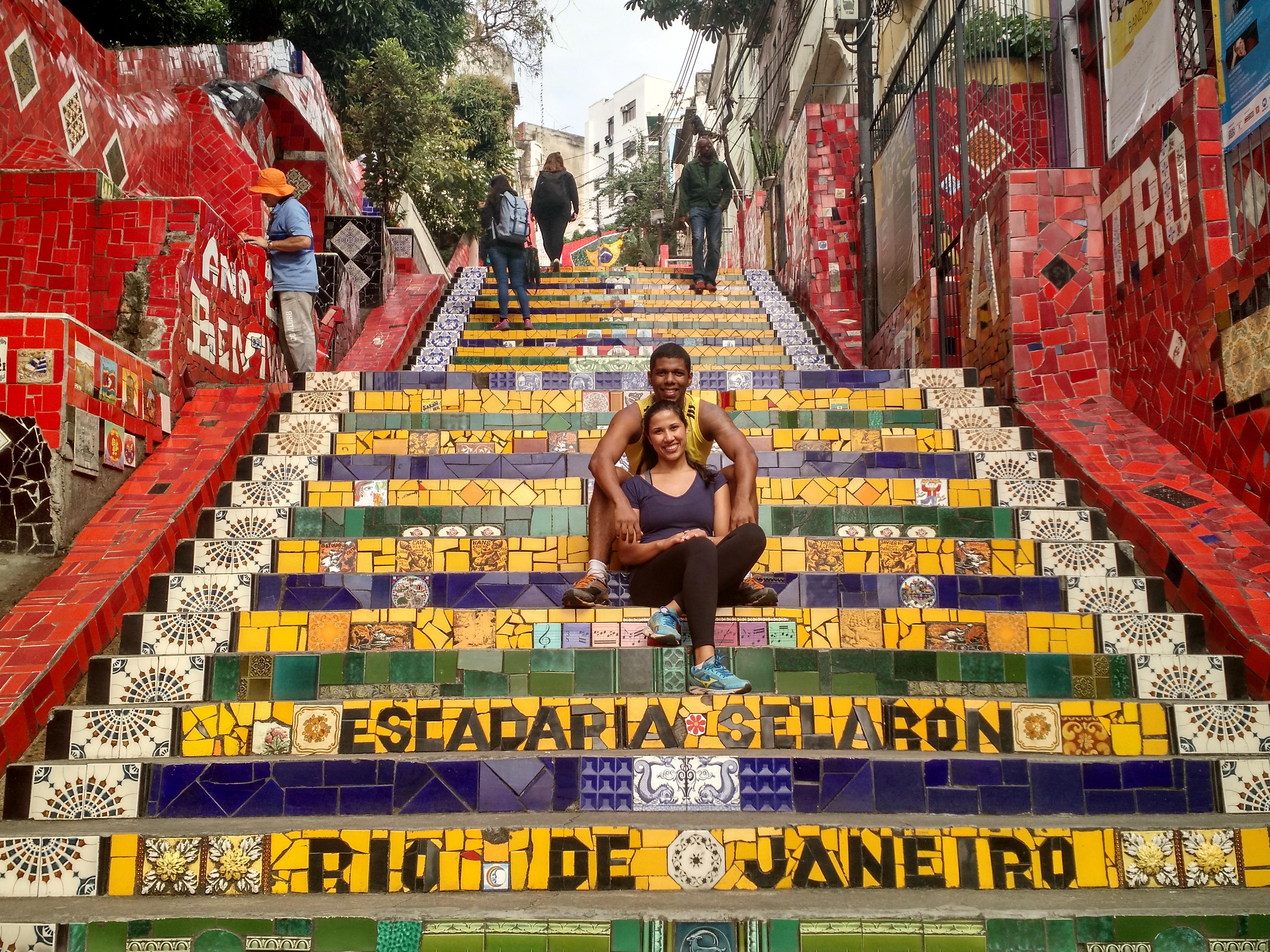 Escadaria Selarón, Rio de Janeiro