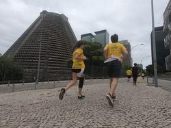 Correndo para a Catedral Metropolita