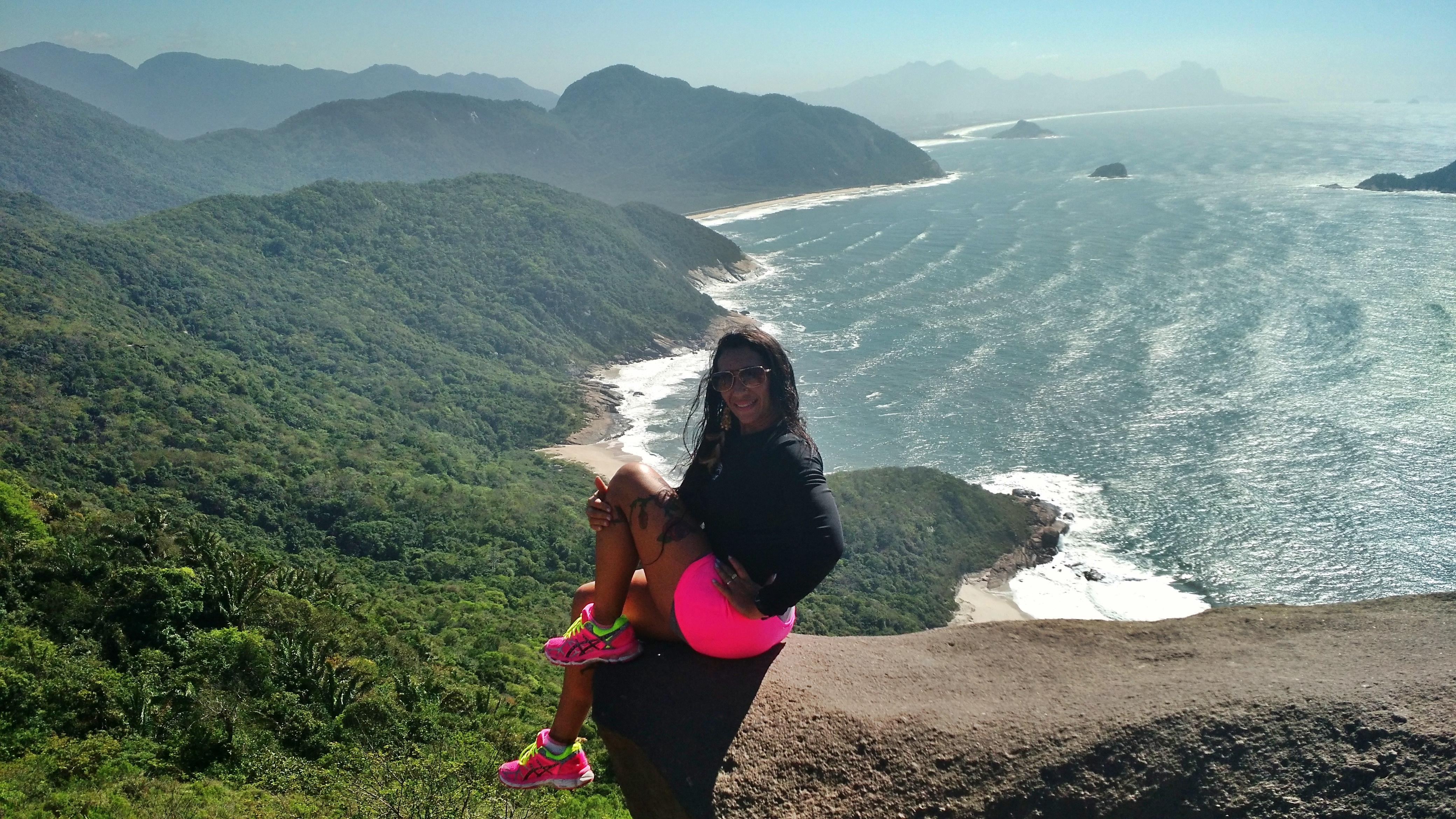 Hiking in Pedra da Tartaruga