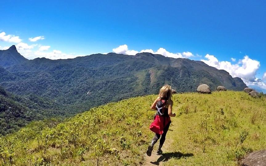 Trail Running Tour no Parque Nacional da Serra dos Órgãos, Rio de Janeiro, Brasil.