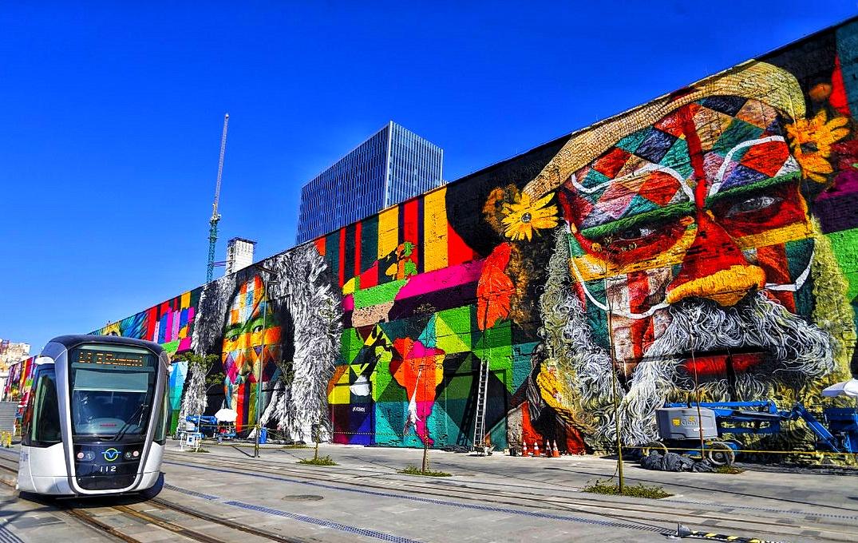 Eduardo Kobra Wall, Rio de Janeiro