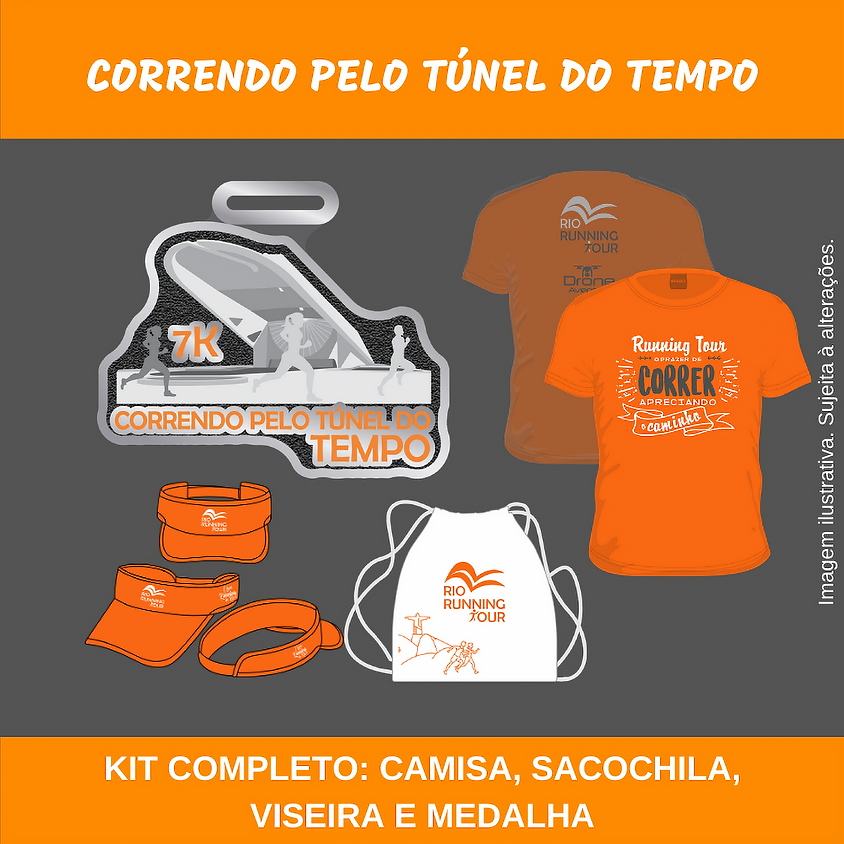 Correndo pelo Túnel do Tempo - Edição Outono 2020
