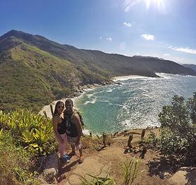 Trail Running Wild Beaches