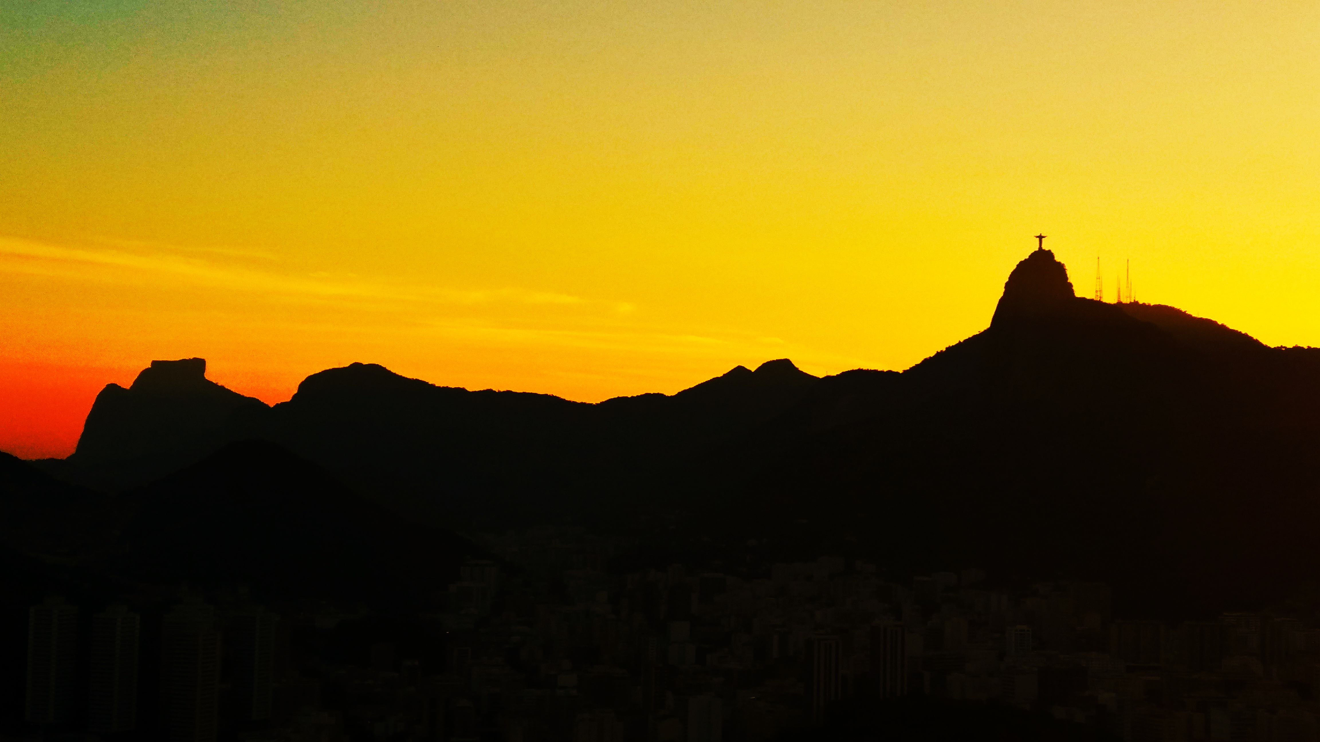 Sunset in Sugar Loaf, Rio de Janeiro