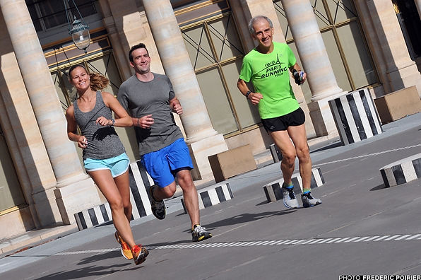 Paris Running Tours, in France