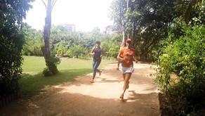Corrida no Parque Marapendi