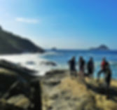 Trilha Praia do Meio Praia Funda