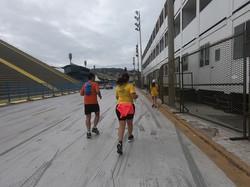 Correndo para o Sambodromo