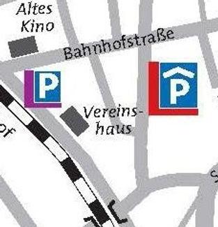 Grafik von Parkmöglichkeiten in der Nähe