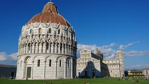 Pisa Kulesi Gerçekten Eğik, Test Ettim ;)