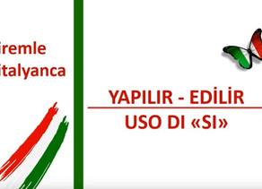 İtalyanca Öğreniyoruz - XV.Hafta