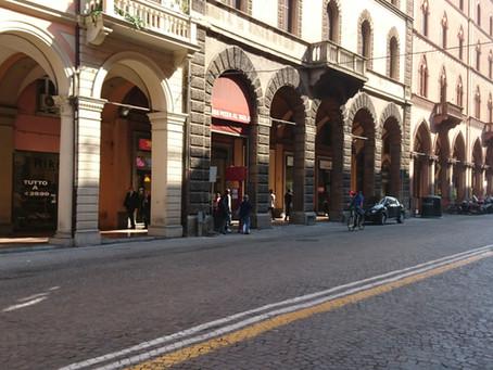 Portici di Bologna (Revaklar)