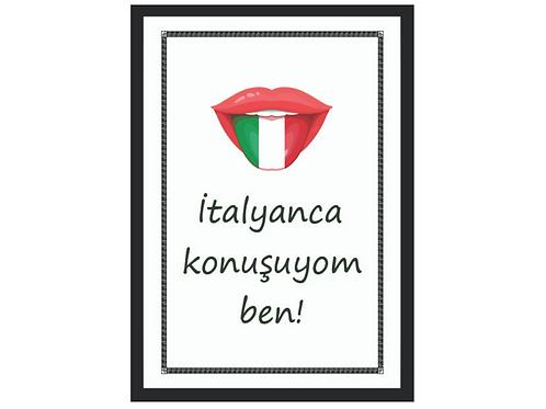 Tablo - İtalyanca Konuşuyom Ben