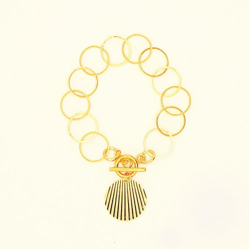 Bracelet Montespan Gold Plated Chain