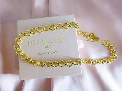 Marie-Antoinette Necklace Chain Gold Plated 18 k