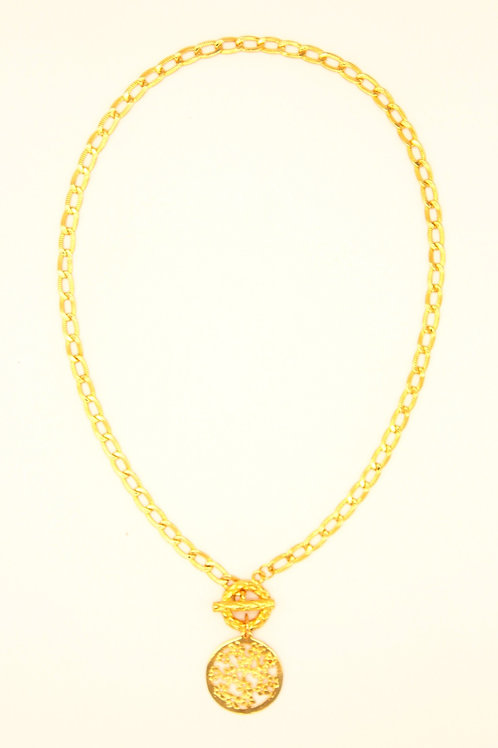 Necklace Marie-Antoinette Gold Plated
