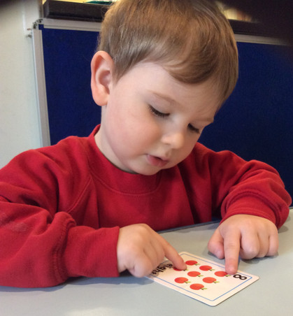 Developing counting skills
