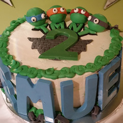 This 2yr old loves the #TMNT but his grandmother didn't know which one was his favorite