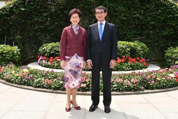 Japanese Foreign Minister visit HK 24-25 MAR 2018