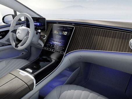 Benz EQS 旗艦電動車
