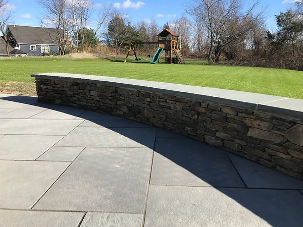 pennsylvania fieldstone retaining wall a