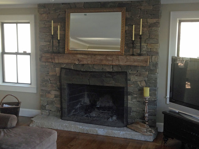 stone fire place scituate ma