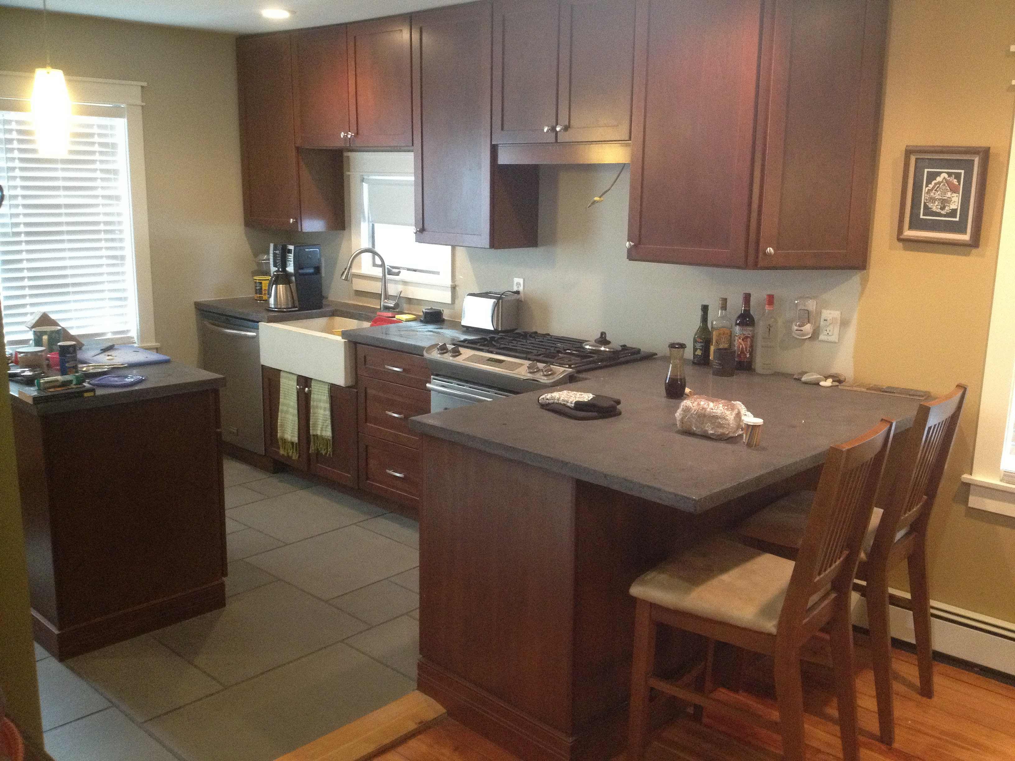 Bluestone Kitchen Countertops