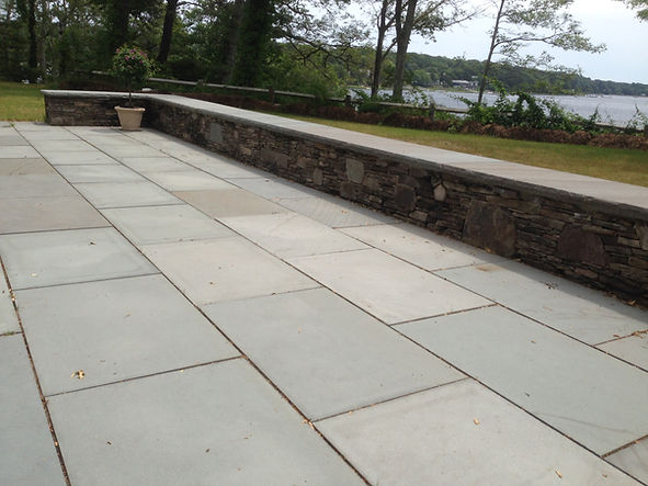 blue stone patio hingham ma