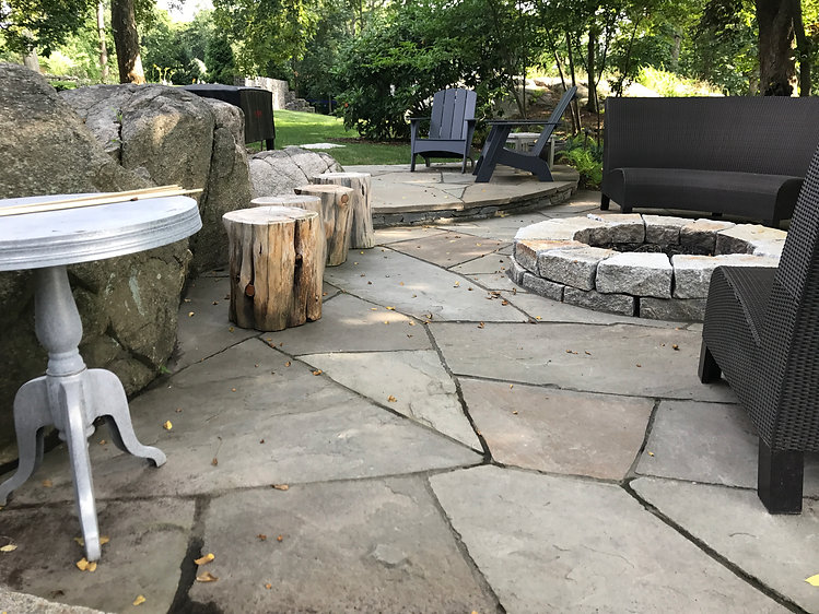 flagstone patio hingham ma