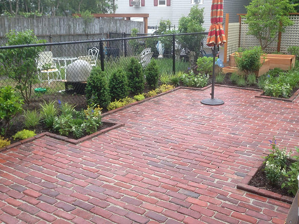 brick patio c