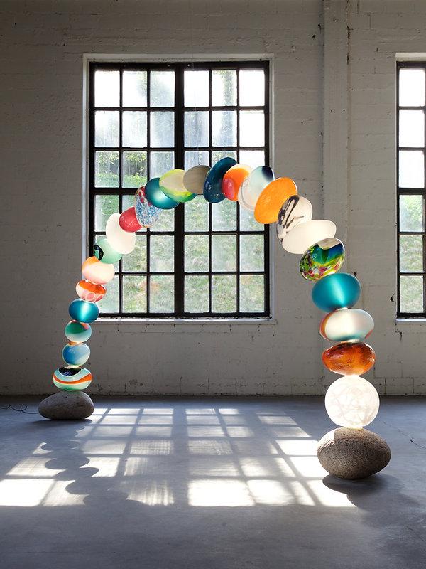 INCLUSIVE lightsculpture 2016, design Ca