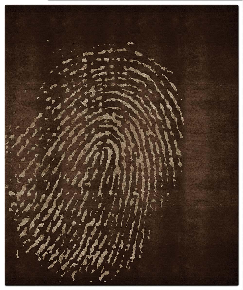 fingerprint-brown