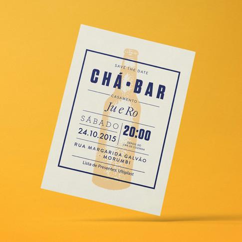 Convite Chá Bar