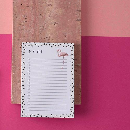 To do List Flamingo
