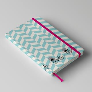 Criação de capa de caderno para Novelaria