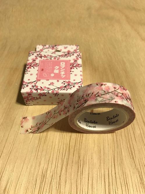 Washi Tape Flor  Rosa