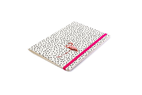 Caderno Flamingo Pink Costura Singer