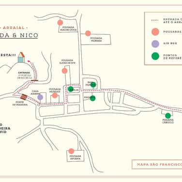 Mapa para Casamento