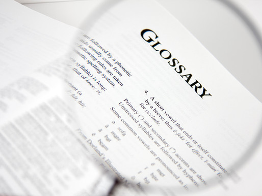 Glossary to Clinical Trial Terms